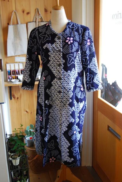着物リメイク・浴衣のワンピース_d0127925_1174963.jpg