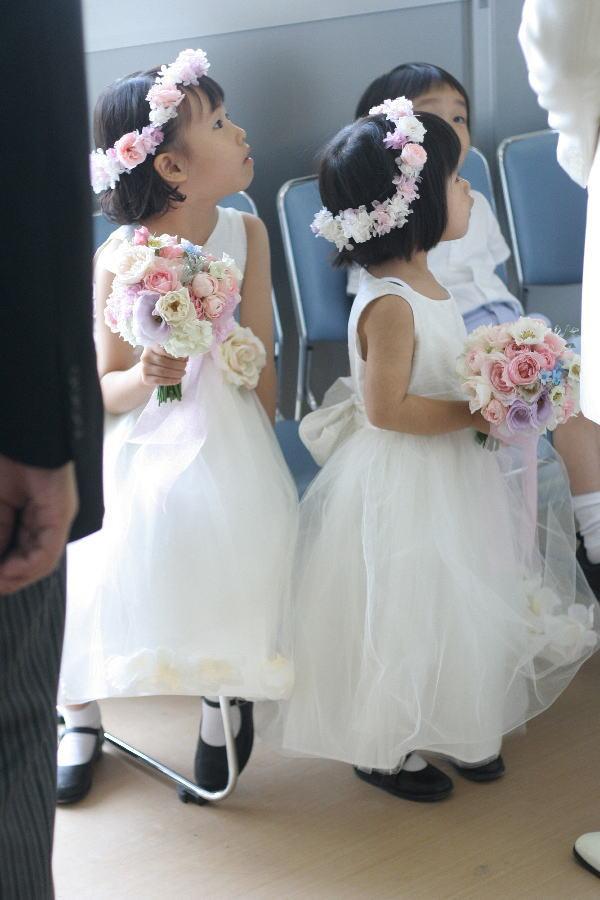 教会での挙式装花 しゃぼんだま カトリック豊島教会様へ_a0042928_19101289.jpg