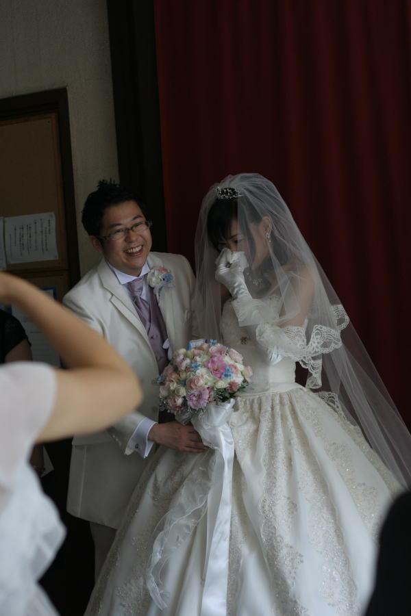 教会での挙式装花 しゃぼんだま カトリック豊島教会様へ_a0042928_1961188.jpg