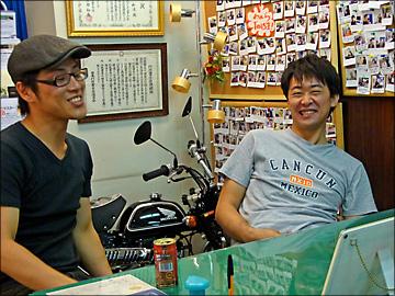 Take It Easy !    Mr.Hayato  Mr.Hidenori 〜★_b0045453_10234820.jpg