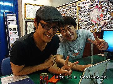 Take It Easy !    Mr.Hayato  Mr.Hidenori 〜★_b0045453_10295397.jpg