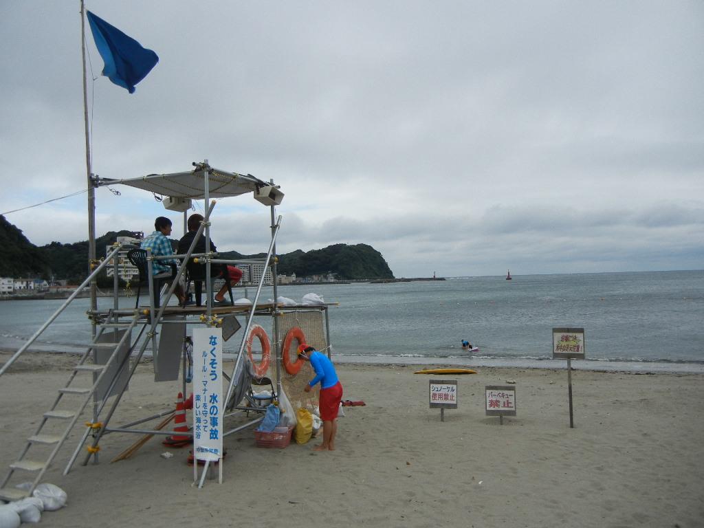 7月23日(土)海開きしたけれど・・・_f0060461_20525575.jpg