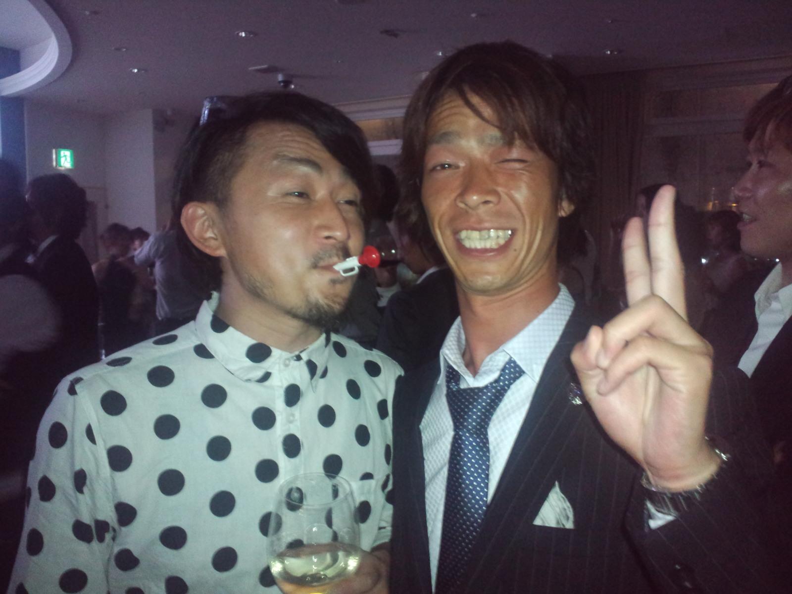 くにくん☆えみちゃん結婚式 2次会_c0151965_1630736.jpg