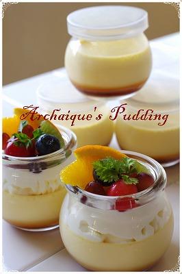 * Pudding *_c0220186_1675643.jpg