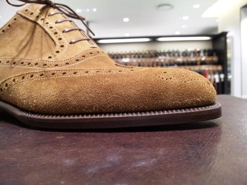 ステファノ・ベーメルのスエード靴_b0226322_14134258.jpg