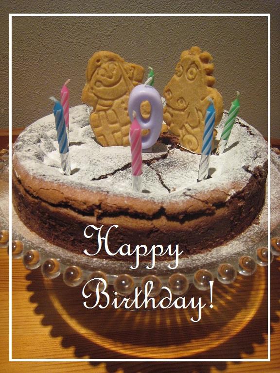 誕生日のケーキ_f0199750_1142110.jpg