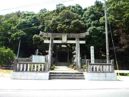 若八幡神社(1)妹を殺された夏羽は…日本書紀の続きが伝えられていた_c0222861_025144.jpg