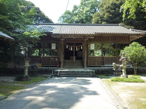 若八幡神社(1)妹を殺された夏羽は…日本書紀の続きが伝えられていた_c0222861_026969.jpg