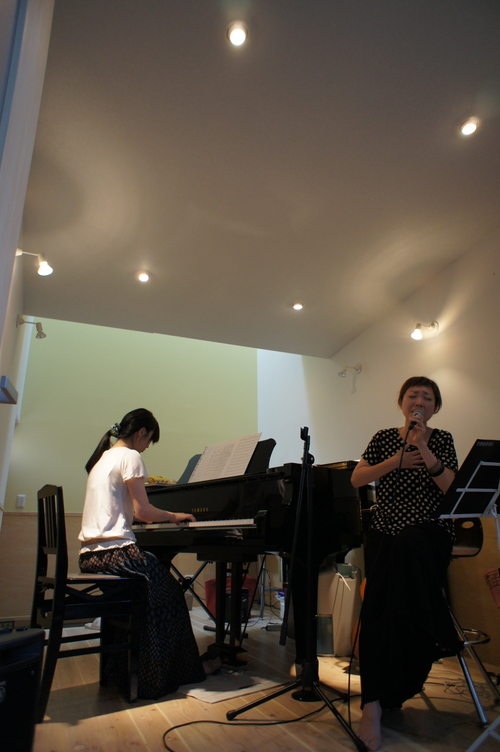 nocci おめでと〜「ピアノの家」OPEN HOUSE LIVE! _b0151262_2026332.jpg