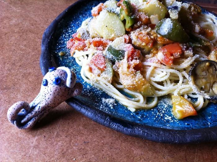 夏野菜は・・収穫して、お腹へ~!_b0087077_0441076.jpg