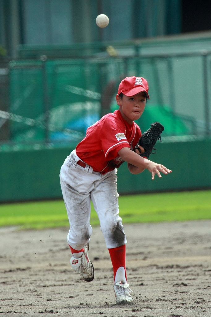 全福知山学童野球大会開幕_a0170082_22171876.jpg