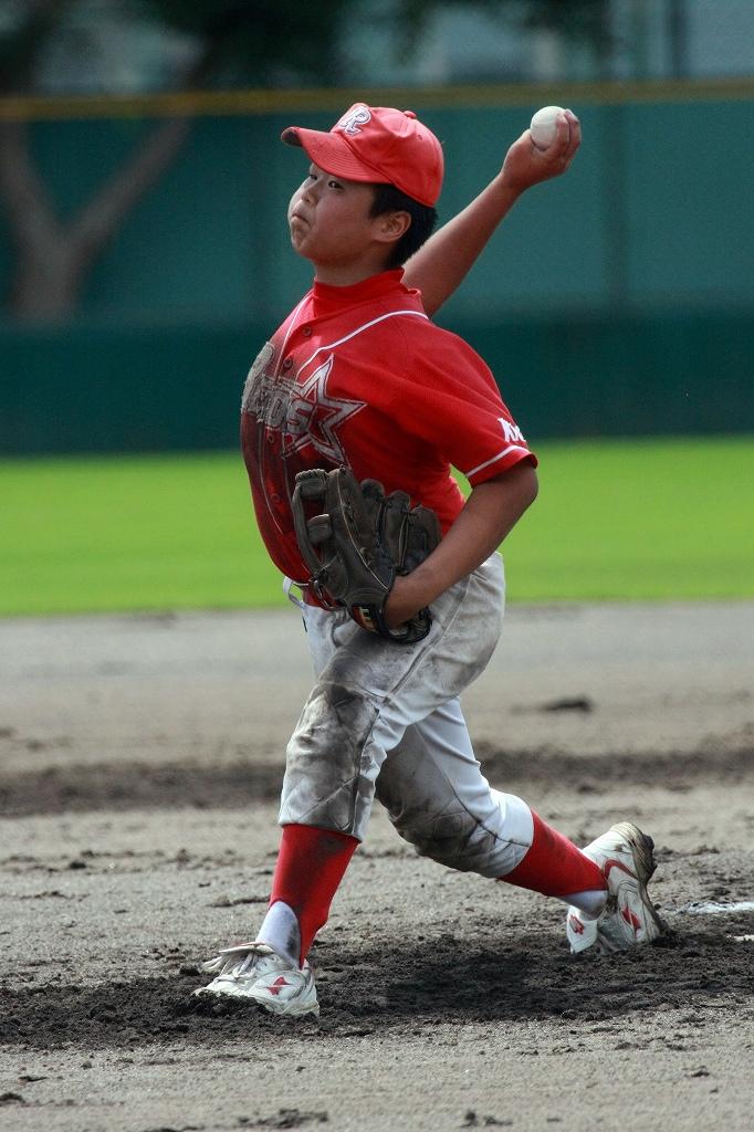 全福知山学童野球大会開幕_a0170082_22174234.jpg