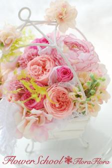 フローラフローラちいさな花の教室 7月の生徒さん作品 プリザ&生花_a0115684_1328448.jpg