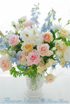 フローラフローラちいさな花の教室 7月の生徒さん作品 プリザ&生花_a0115684_13371035.jpg