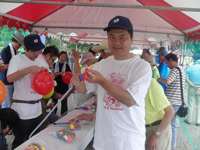 富士まつりと「2250(フッコー)風船プロジェクト」_f0141310_7364188.jpg