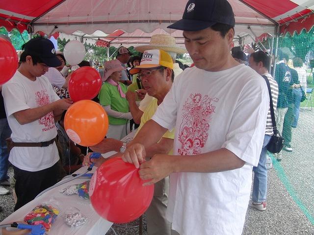 富士まつりと「2250(フッコー)風船プロジェクト」_f0141310_737039.jpg