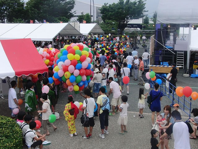 富士まつりと「2250(フッコー)風船プロジェクト」_f0141310_738579.jpg