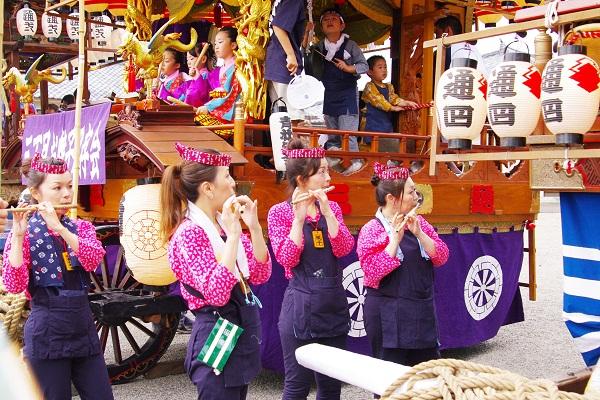 藤岡祇園祭&夏の花 2        _f0214527_123049.jpg