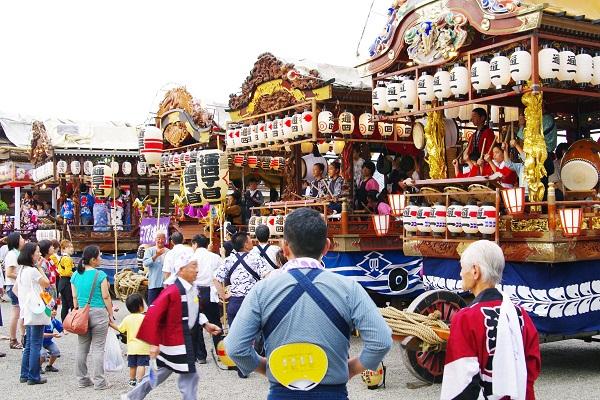 藤岡祇園祭&夏の花 2        _f0214527_123287.jpg