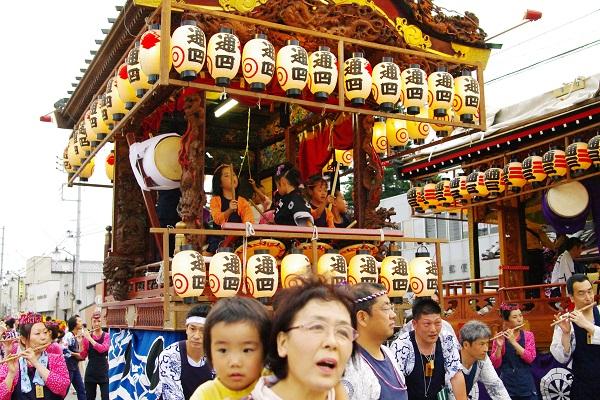 藤岡祇園祭&夏の花 2        _f0214527_1245813.jpg