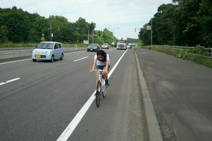 札幌から千歳 ようこそテースケ_e0173533_11311310.jpg