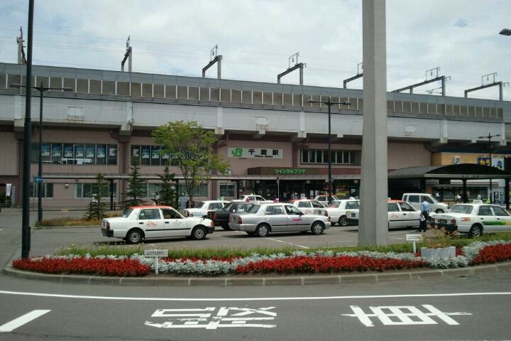 札幌から千歳 ようこそテースケ_e0173533_11355144.jpg
