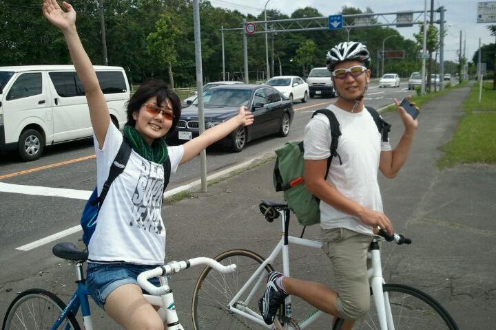 札幌から千歳 ようこそテースケ_e0173533_1136263.jpg