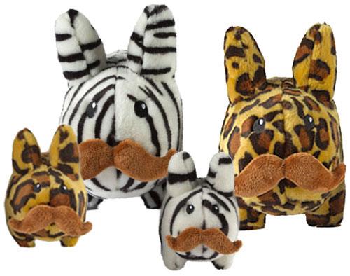 Zebra & Leopard Stache Labbit、発売中。_a0077842_1259366.jpg