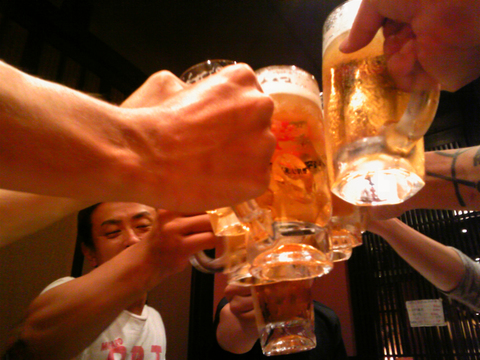 2011年7月25日 とりあえず酒を飲む_a0202976_927435.jpg