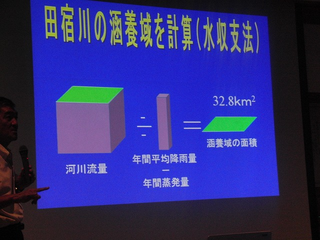 いろいろなことがわかった「田宿川をもっと学ぼう!」講演会_f0141310_7104048.jpg