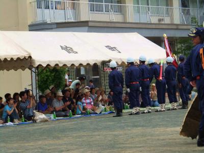 支部消防訓練大会_b0084826_6252296.jpg