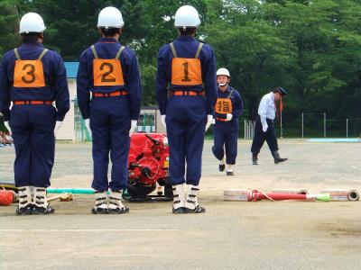 支部消防訓練大会_b0084826_6253959.jpg