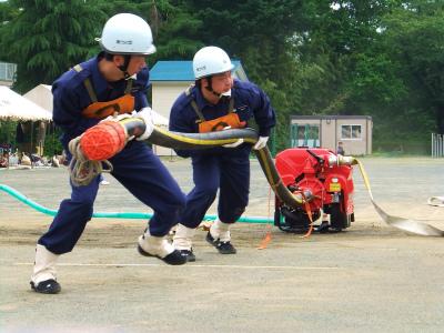 支部消防訓練大会_b0084826_626199.jpg