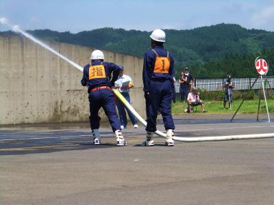 由利本荘市消防訓練大会_b0084826_653296.jpg