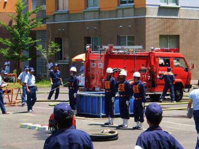 由利本荘市消防訓練大会_b0084826_6534415.jpg