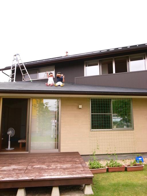 Hさんの家(2009) OM2年点検 2011/7/23_a0039934_17373849.jpg