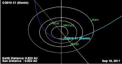エレニン彗星接近の神秘的解釈_b0213435_18105223.jpg