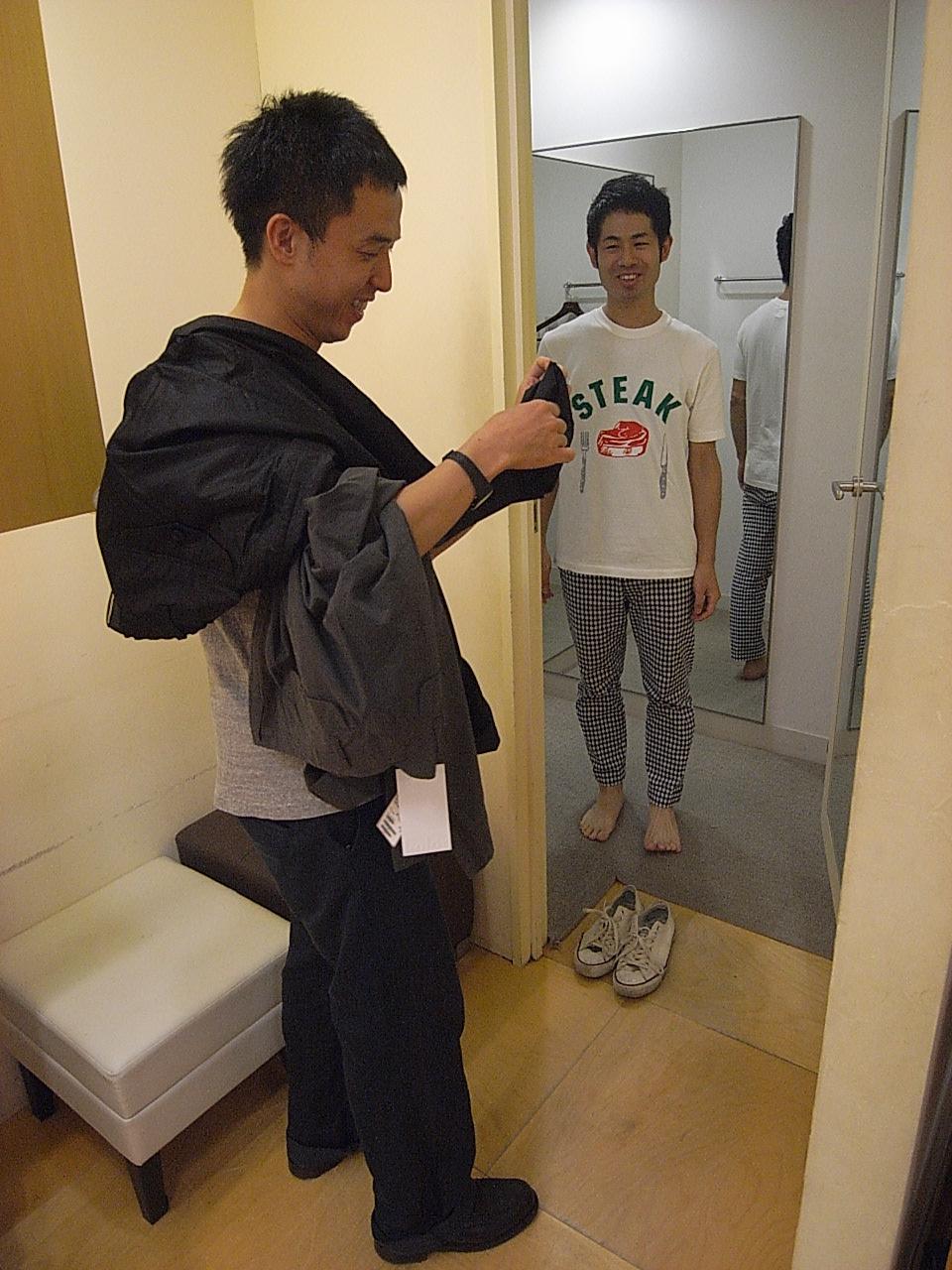 松屋SOHO's ROOMの佐藤さんと。_e0230090_0114064.jpg