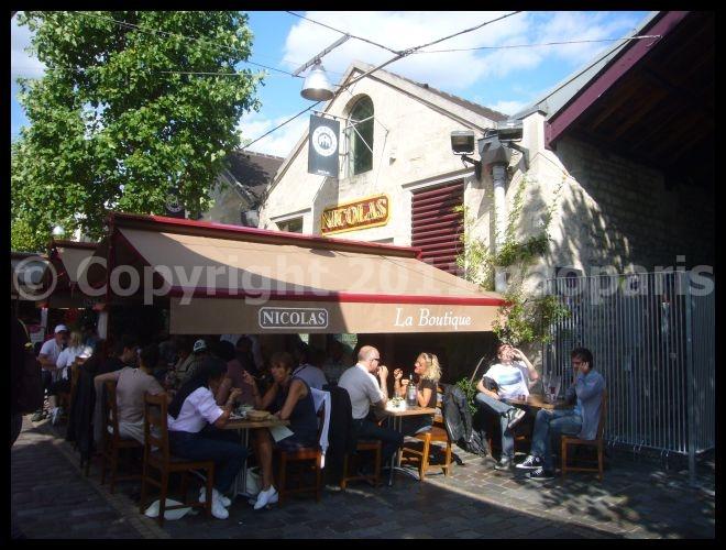 【街角のキャフェ・レストラン】Bercy Village Paris_a0014299_21452162.jpg