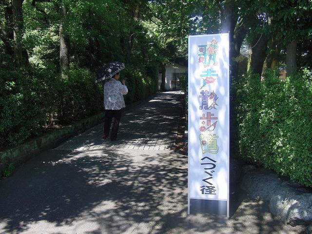 はつらつとした皆さんが歌う「歌声散歩道」_f0141310_781693.jpg