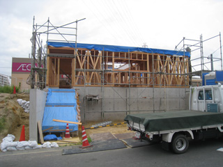 「平子山の家」軸組み検査_b0179213_19123198.jpg