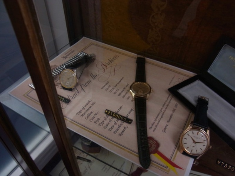 PATEK PHILIPPE in The ANTIQUE SHOW CASE_c0128818_23441717.jpg