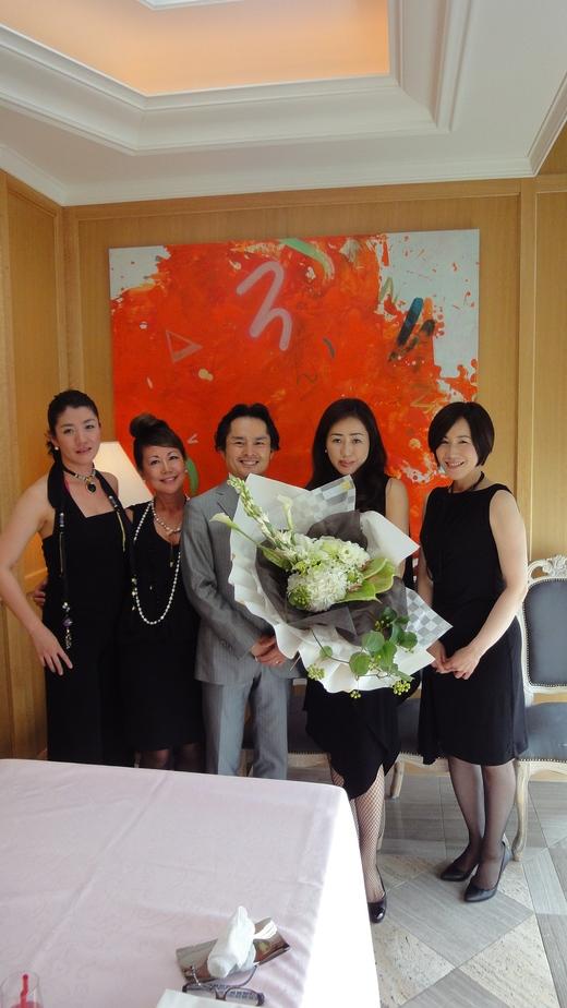 Motomi\'s Birthday at Princess room@Benoit Osaka Part 2_f0215324_11202286.jpg