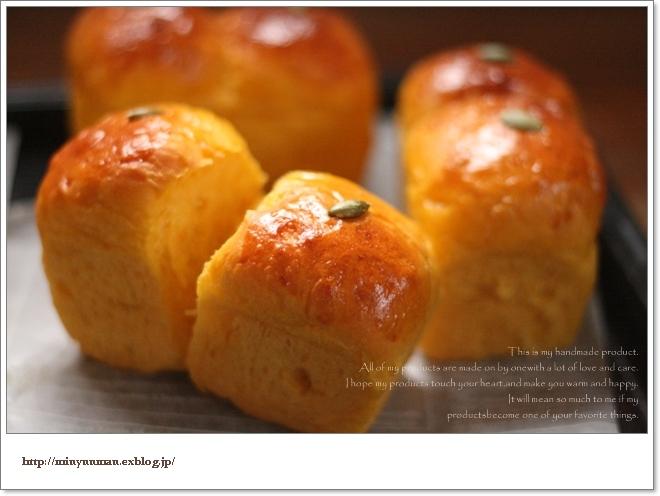 かぼちゃパンとドルマン_d0173942_131019100.jpg