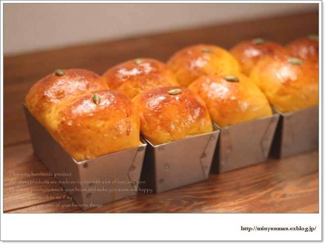 かぼちゃパンとドルマン_d0173942_1394357.jpg