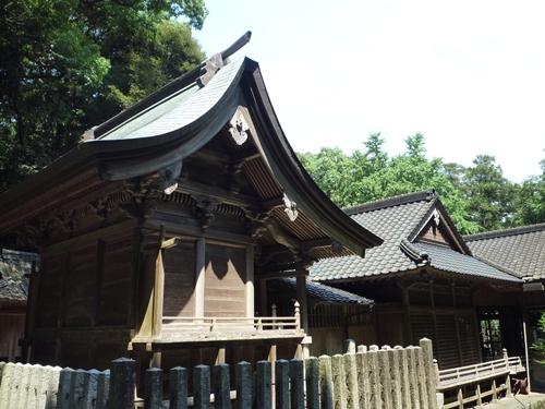 若八幡神社(3)夏羽と田油津姫は_c0222861_19483167.jpg