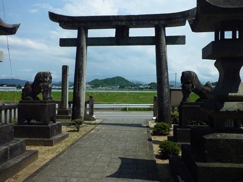 若八幡神社(3)夏羽と田油津姫は_c0222861_19494274.jpg