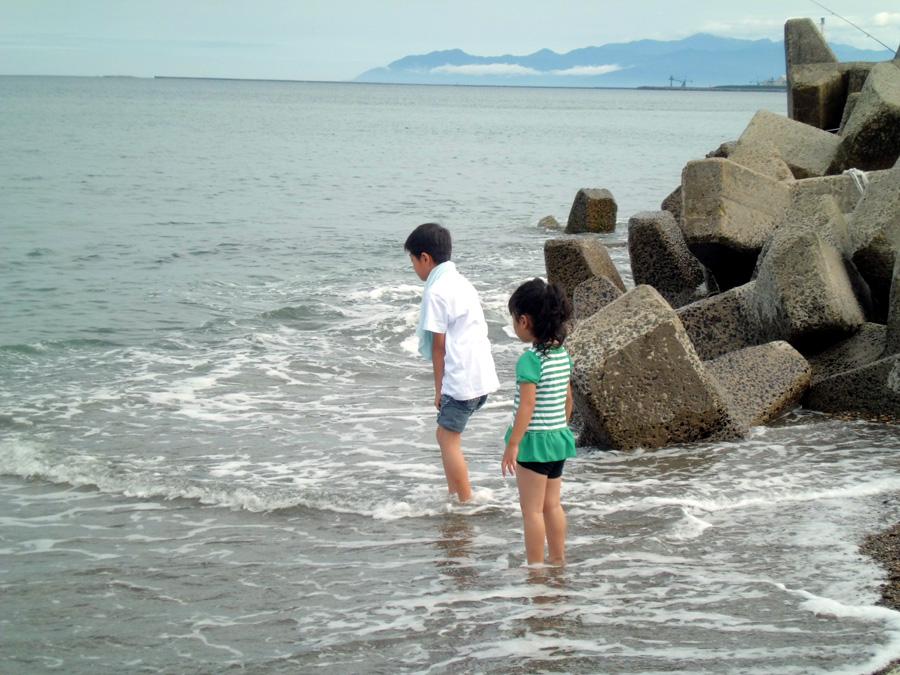 水遊び!_f0150893_1858210.jpg
