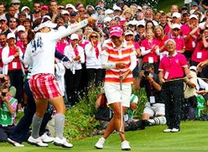 宮里藍さん、米国女子ゴルフツアー今季初優勝で日の丸どーん_b0007805_9584475.jpg