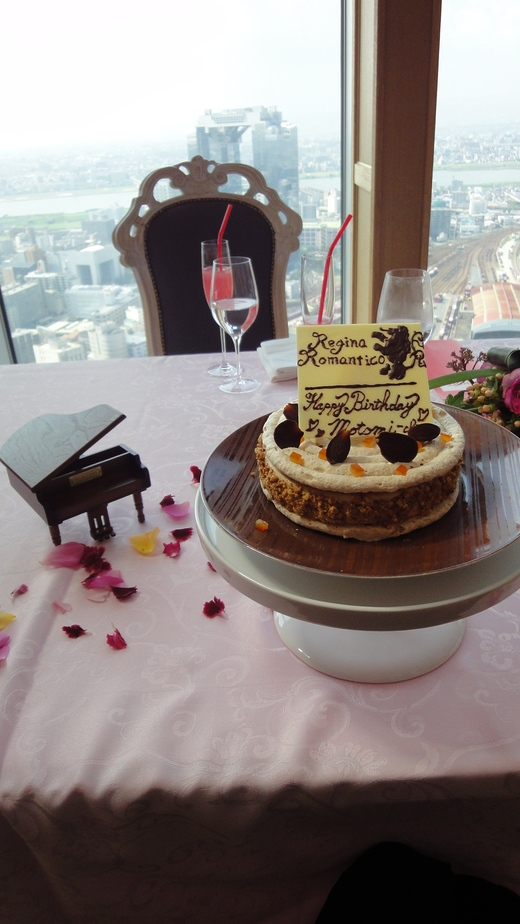 Motomi\'s Birthday at Princess room@Benoit Osaka Part 2_f0215324_1285937.jpg